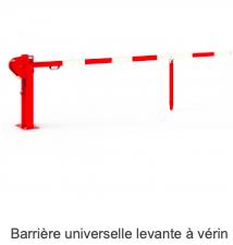Barrière Universelle Levant à Vérin Prozon